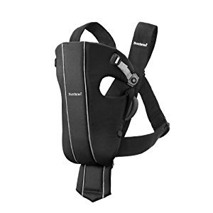BABYBJORN Baby Carrier Original - Black Spirit, Cotton