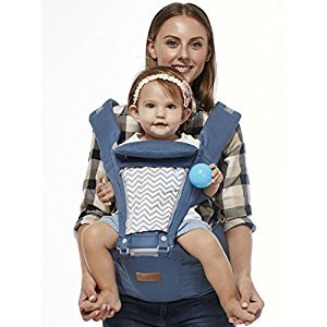 BOYOVO Baby Sling Carrier with Hip Seat - Blue