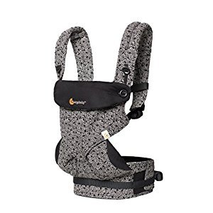Ergobaby 360 All Carry Positions Award-Winning Ergonomic Baby Carrier Limited Keith Haring (Black)