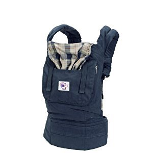 Ergobaby Organic Baby Carrier, Highland Navy