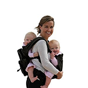 Stuff 4 Multiples Twin Carrier, Twingaroo, Black