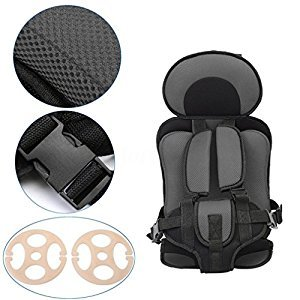 Baby Safety Car Seat Vest -Convertible Car Seat Belt Covers,Children's Chairs,Kids Car Seats (Black)