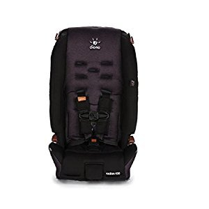 Diono Radian R100 5 Point Harness Convertible+Booster Car Seat - Black Cobalt