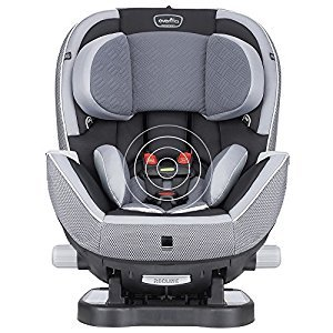 Evenflo Triumph with SensorSafe Technology Convertible Car Seat, Concord