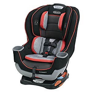 Graco Extend2Fit Convertible Car Seat, Solar