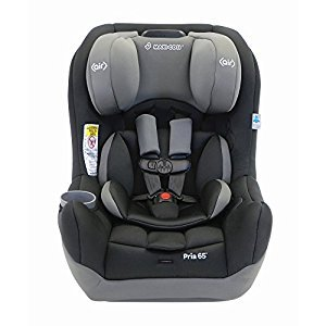 Maxi-Cosi Pria 65 Convertible Car Seat, Total Black