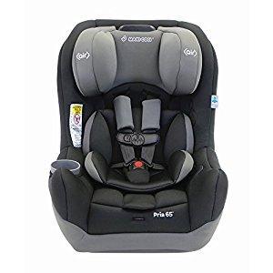 Maxi-Cosi Pria 65 Convertible Car Seat, Total Black