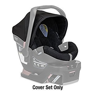Britax B-safe 35 Infant Car Seat Cover Set, Black