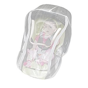 Comfy Baby EZ Access Zippered Window Infant Car Seat Net