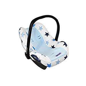Dooky Infant Car Seat Cover 0+ BLUE STAR (Dispatched From UK)