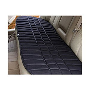 12V Black Heating Auto Car Seat Cover Warmer Cushion for Rear Seats