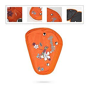 Decdeal Seat Belt Adjuster Seat Belt Positioner Cover Pad Harness for Kid Child