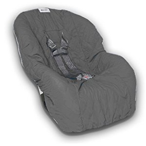 Nomie Baby Toddler Car Seat Cover, Charcoal