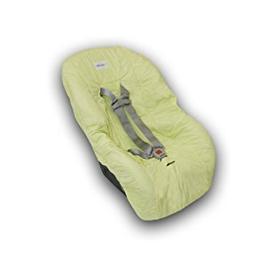 Nomie Baby Toddler Car Seat Cover, Lime