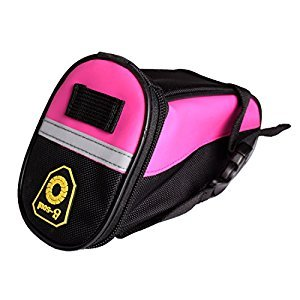 Andux Bicycle Saddle Bags Mountain Bikes Cushion Bags ZXCZYB-01 (Pink)