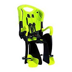 Bellelli Tiger Baby CarrierChild Bike Seat - Clamp, Yellow - 50lbs.