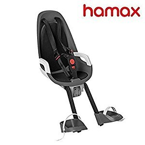 Hamax Observer Front Child Bike Seat (Grey/Red)
