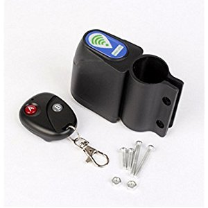Bike Bicycle Cycling Security Wireless Remote Control Vibration Alarm Anti-theft