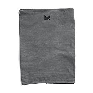Mission RadiantActive Neck Gaiter, Carbon Emboss, One Size