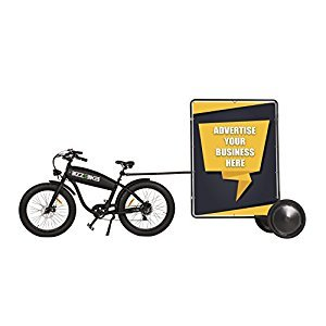 Standard Ad Bike - Advertising Bike Trailer - Mobile Billboard - Bicycle Billboard Trailer