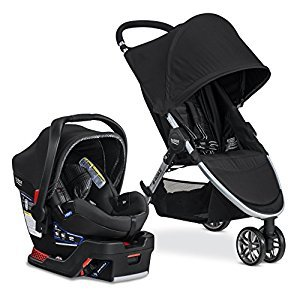 Britax S08366200 2017 B-Agile & B-SAFE 35 Elite Travel System, Domino