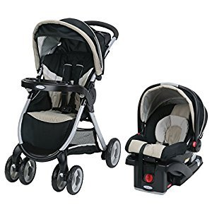 Graco Fastaction Fold Click Connect Travel System with Snugride 30 Pierce