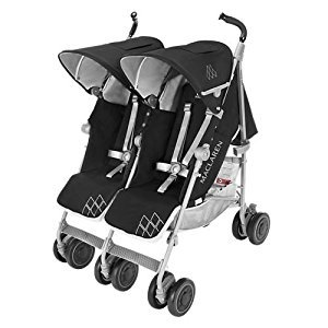 Maclaren Twin Techno Stroller, Black