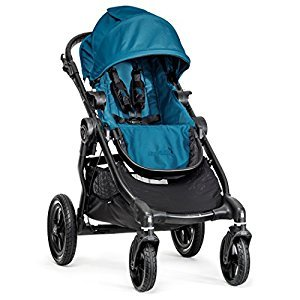 Baby Jogger City Select Black Frame, Teal
