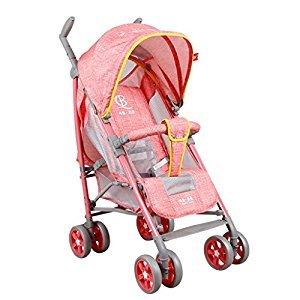 Baby Stroller Lightweight Portable Portable Stroller (Pink) (Blue) (Violet) 69 * 53 * 104cm ( Color : Pink )