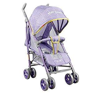 Baby Stroller Lightweight Portable Portable Stroller (Pink) (Blue) (Violet) 69 * 53 * 104cm ( Color : Violet )