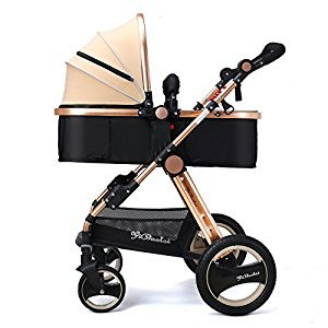 YBL High landscape Four rounds Baby stroller The choice of city Easy to fold Children's trolley Four seasons available Suitable Two-way implementation for children 0-3 years old