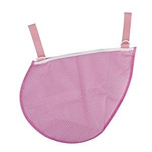Baby Stroller Pram Hanging Bag Net Bag Pink