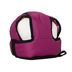 Kutnik SOFT SAFETY HELMET for toddlers (AMARANTH)