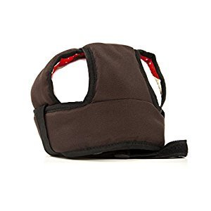 Kutnik SOFT SAFETY HELMET for toddlers (CHOCOLATE BROWN)