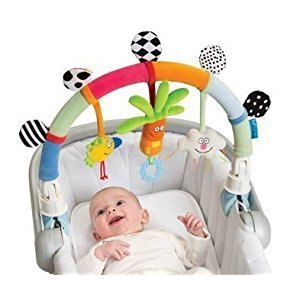 Taf Toys Rainbow Arch. Baby Stroller and Pram Activity Bar by Taf Toys