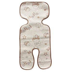 Toddler Summer-use Stroller Liner Infant Pram Seat Liner Brown