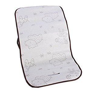 Toddler Summer-use Stroller Liner Infant Pram Seat Liner White