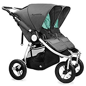 Bumbleride 2016 Indie Twin Stroller Dawn Grey