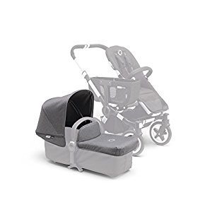 Bugaboo Donkey Tailored Fabric Set, Grey Melange