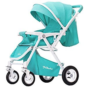 YBL Four seasons available Lightweight Baby stroller Strong carrying capacity Two-way implementation Children's trolley One-click folding The choice of city Can sit Can lie down