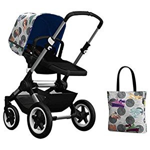 Bugaboo Buffalo Accessory Pack - Andy Warhol Transport/Royal Blue (Special Edition)