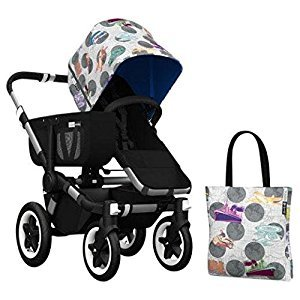 Bugaboo Donkey Accessory Pack - Andy Warhol Transport/Royal Blue (Special Edition)