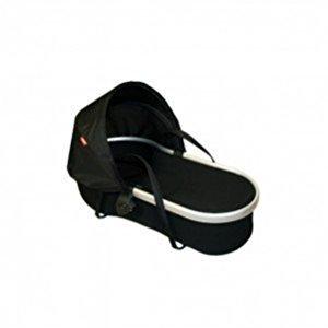 phil&teds Peanut Bassinet for Vibe Stroller - Black/Black