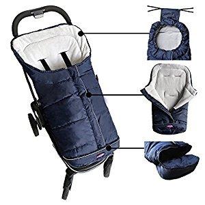 Baby Cozy Stroller Blanket, Baby Bunting Bag, Stroller Footmuff Fits for Bugoboo Uppababy Pushchair/Pram/Stroller Car Seat