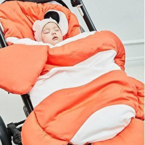 Baby Stroller Sleeping Bag Newborn Sleep Sacks Swaddling Blanket,Anti-kicking Newborn Sacks Swaddle Blanket,Baby Infant Stroller Bunting Bags,Clown fish
