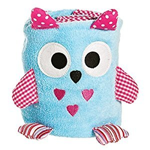 Blue Owl Rolled Blanket