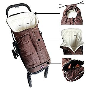 Cozy Baby Sleeping Bag Adaptable For Most Style Strollers,Extendable,Adaptable,Convertibale,the best baby shower gift