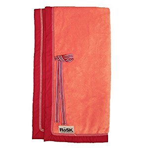 RoSK Woobee Plush Blanket, Tangerine/Red