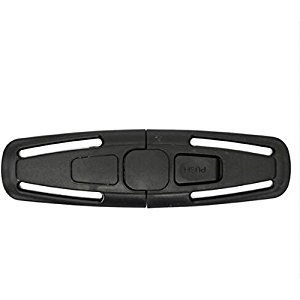 jatech 2 pcs Car Baby Child Safety Seat Strap Belt Harness Chest Clip Buckle Latch Nylon