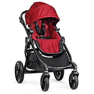 Baby Jogger City Select Single Stroller 2014 (Red w/Black Frame)